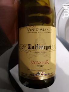 Sylvaner - Wolfberger - 2017 - Blanc