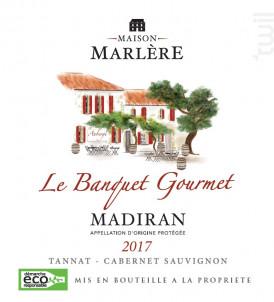 Le Banquet Gourmet - Maison Marlère - 2017 - Rouge