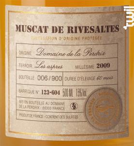 Muscat Collection - Domaine de la Perdrix - Non millésimé - Blanc