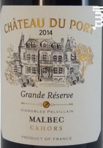 Château du Port - Grande Réserve - Vignobles Pelvillain - 2014 - Rouge