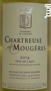 Muscat Petit Grain - Chartreuse de Mougères - 2017 - Blanc