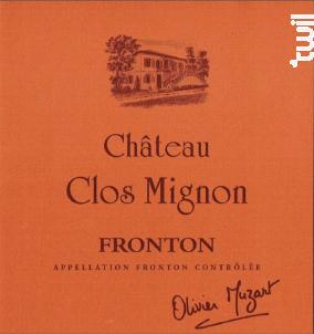 Château Clos Mignon - Cuvée Classique - Château Clos Mignon - 2017 - Rouge