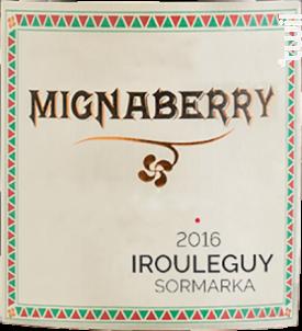 Mignaberry - Cave d'Irouleguy - 2017 - Rouge
