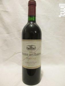 Réserve des Barons - CALVET - 1986 - Rouge