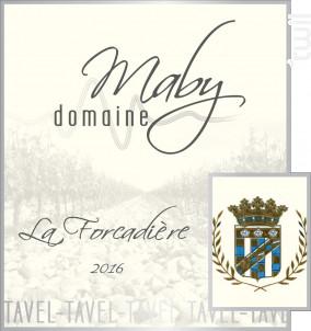 La Forcadière - Domaine Maby - 2016 - Rosé