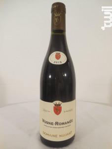 Vosne-Romanée - Domaine Nudant - 2015 - Rouge