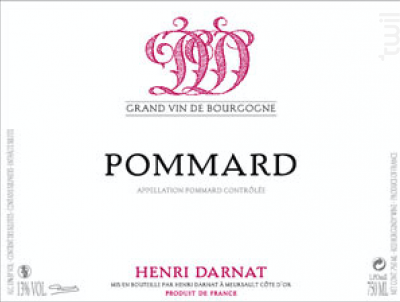 Pommard - Domaine Henri Darnat - 2018 - Rouge