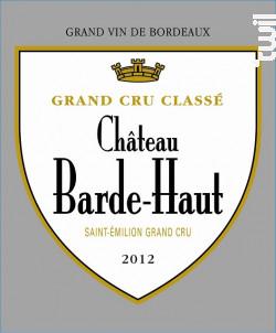 Château Barde-Haut - Château Barde-Haut - 2014 - Rouge