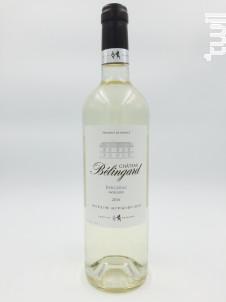 Château Bélingard Moelleux - Château Belingard - 2016 - Blanc