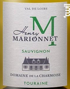 Sauvignon - Henry Marionnet - Domaine de La Charmoise - 2018 - Blanc