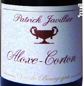 ALOXE CORTON - Domaine Patrick Javillier - 2015 - Rouge