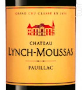 Château Lynch-Moussas - Château Lynch-Moussas - 2018 - Rouge