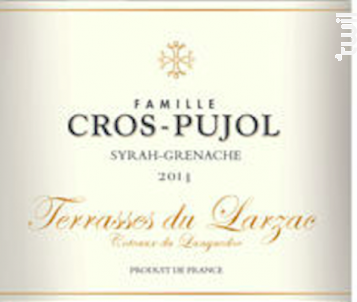 Terrasses du Larzac - Famille Cros-Pujol - Château Grézan - 2017 - Rouge