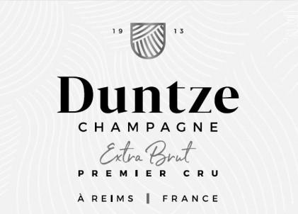 Extra brut - Premier Cru - Champagne Duntze - Non millésimé - Effervescent