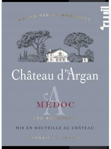 Château d'Argan - Château d'Argan - 2017 - Rouge