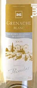Grenache Blanc - Domaine de Pécoulas - 2018 - Blanc