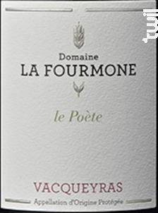 Le Poète - Vacqueyras rouge - Domaine la Fourmone - 2014 - Rouge