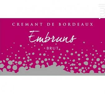 Embruns de l'Estuaire Rosé - Château La Botte - Non millésimé - Effervescent