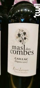 Mas des Combes Gaillac Elégance - Mas des Combes - 2017 - Rouge