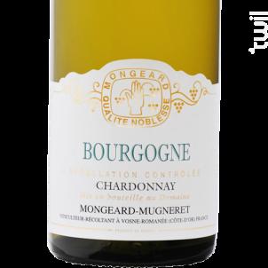 Bourgogne - Domaine Mongeard-Mugneret - 2018 - Blanc
