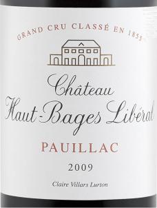 Château Haut-Bages Libéral - Château Haut-Bages Libéral - 2009 - Rouge