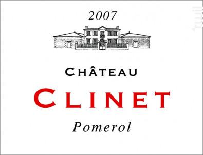 Château Clinet - Château Clinet - 2007 - Rouge