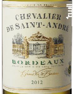 Chevalier Saint André - Univitis - 2012 - Blanc