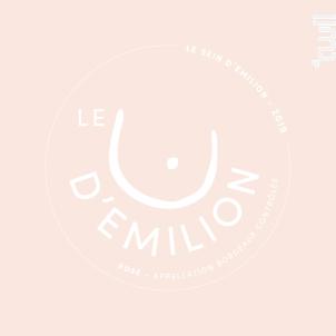 Le sein d'Emilion - Château de Castelneau - 2019 - Rosé