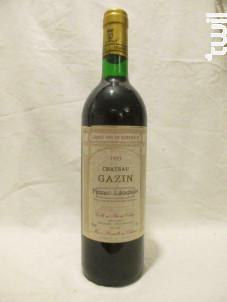 Château Gazin - Château Gazin - 1993 - Rouge
