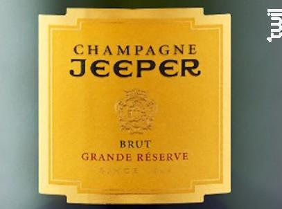 Grande Réserve - Chardonnay - Champagne Jeeper - Non millésimé - Effervescent