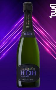 Extra Brut - Champagne Henri David-Heucq - Non millésimé - Effervescent