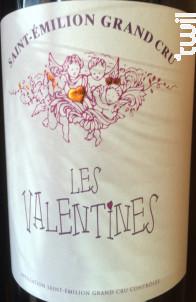Les Valentines - Château Rol-Valentin - 2016 - Rouge