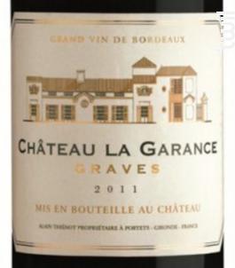 Château la Garance - Vignobles Dourthe - Château La Garance - 2014 - Rouge