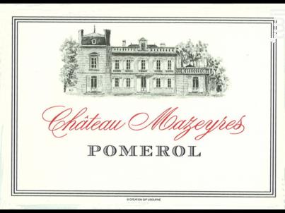 Château Mazeyres - Château Mazeyres - 2013 - Rouge