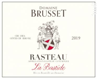 La Bastide - Domaine Brusset - 2019 - Rouge