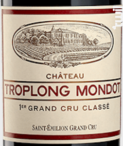 Château Troplong Mondot - Château Troplong Mondot - 2020 - Rouge