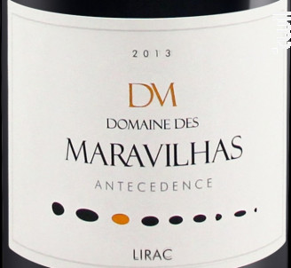 Antecedence - Domaine des Maravilhas - 2013 - Rouge