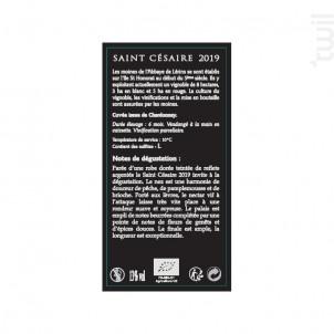 Saint-Césaire - Abbaye de Lérins - 2019 - Blanc