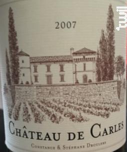 Château de Carles - Château de Carles - 1978 - Rouge