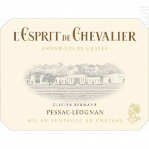 L'Esprit de Chevalier - Domaine de Chevalier - 2015 - Rouge
