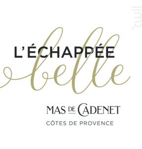 Echappée Belle - Mas de Cadenet - 2017 - Rouge