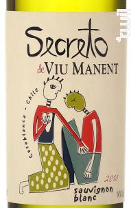 Secret Sauvignon Blanc - Viu Manent - 2018 - Blanc