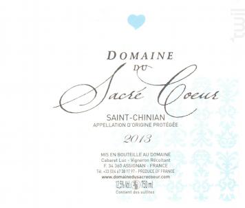 Saint-Chinian - Domaine du Sacré Coeur - 2018 - Rosé