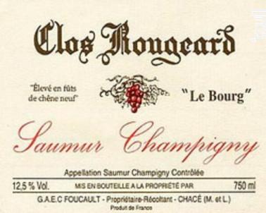 Le Bourg - CLOS ROUGEARD - 2008 - Rouge