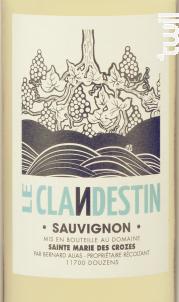 Le Clandestin - Domaine Sainte Marie des Crozes - 2018 - Blanc