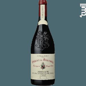 Hommage à Jacques Perrin - Famille Perrin - Château de Beaucastel - 2018 - Rouge