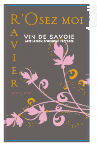 Gamay - Domaine RAVIER Philippe - 2019 - Rosé