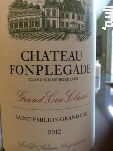 Château Fonplégade - Château Fonplégade - 2012 - Rouge