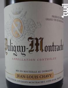 PULIGNY MONTRACHET - Jean Louis Chavy - 2016 - Blanc