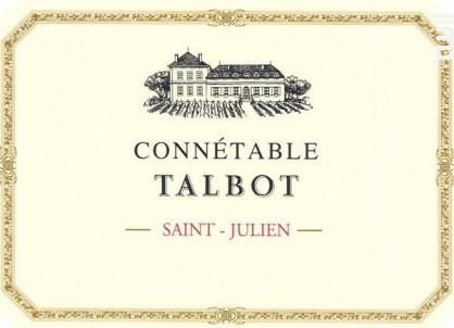 Connétable de Talbot - Château Talbot - 2018 - Rouge
